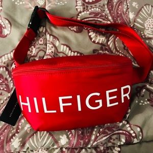New Tommy Hilfiger red Fanny pack